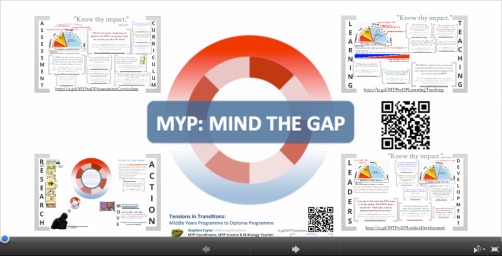 MYP Mind the Gap