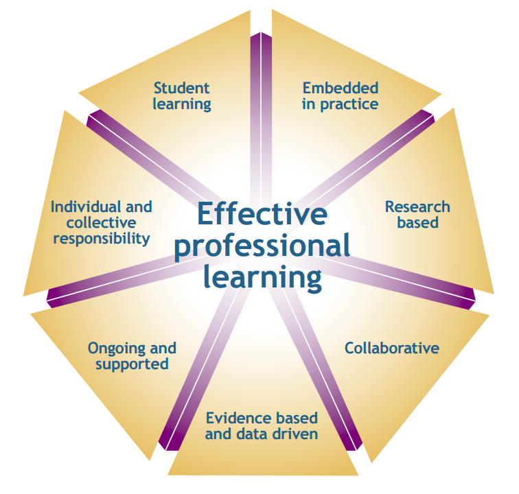 goals of professional learning experience