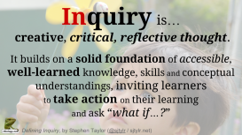 Defining Inquiry